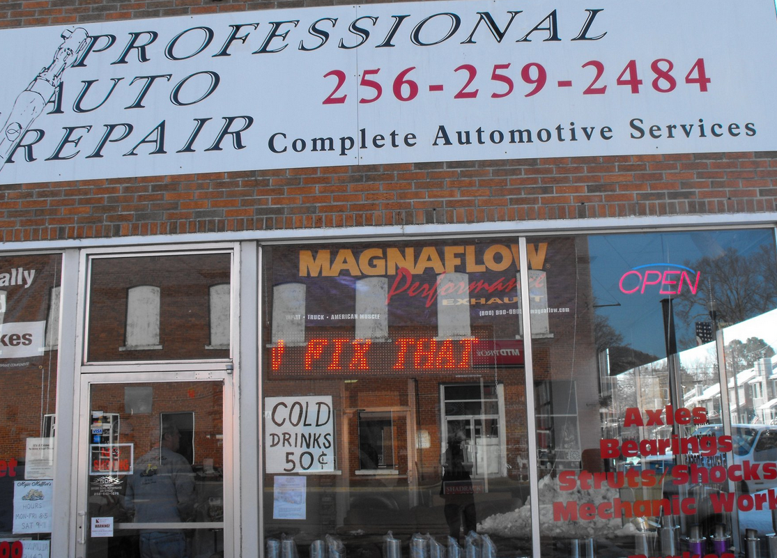 professional auto repair scottsboro al
