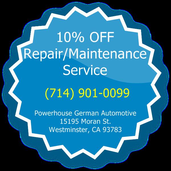 10% off Repair or Service
