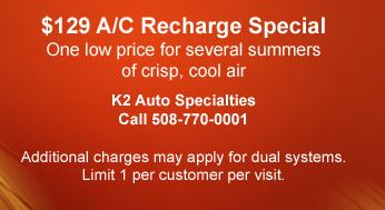 $129 AC Recharge Special