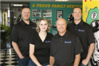 Family Owned and Operated, 5th Generation - Son Trent, Daughter Taylor, Owner Randy Pickering & Son Brandon