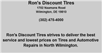 Rons Discount Tires