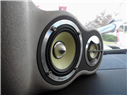 Custom A-pillars with focal 3 - way components