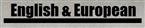 English & European