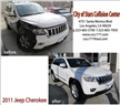 Jeep Cherokee repair before and after