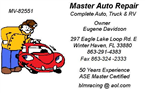 Master Mobile Auto Doctor CAR DOCTOR
