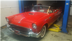 1957 Ford Thunderbird, ready for pickup