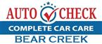 Auto Check Bear Creek