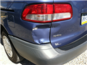 toyota with rear collision damage