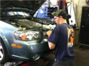 One of our mechanics