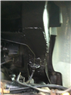 Repaired formerly rusted engine cradle
