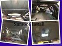 sunroof installation