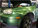 vw collision repair-before