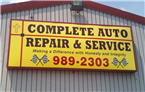 Complete Auto Repair and Service