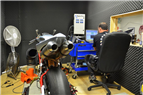 Inside our dyno room