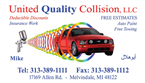 United Quality Collision, LLC