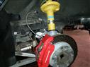 Porsche Cayman S suspension upgrade