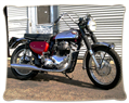 BBC Triumph featured restoration: vintage Matchless motorcycle