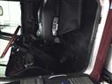 semi truck interior