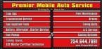 Premier Mobile Auto Service