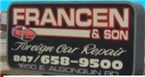 Francen & Son Foreign Car Repair