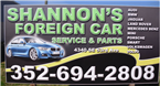 Shannon's Foreign Car Services