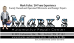 Marks Automotive Repair