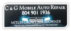 C and G Mobile Auto Repair