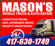 Mason's Mobile Truck and Auto Repair