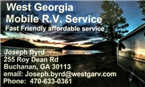 West Georgia Mobile RV Service