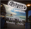 Beckwiths Car Care