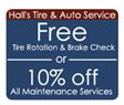 Halls Tire and Auto Service