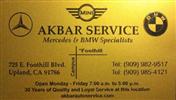 Akbar Auto Service