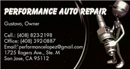 Performance Auto Repair
