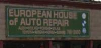 European House of Auto Repair