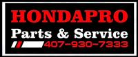 Hondapro Parts and Service