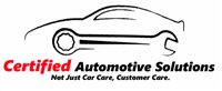 Certified Automotive Solutions